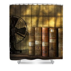 Archives Shower Curtain by Susan Candelario