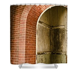 Eastern State Penitentiary Archway Shower Curtain