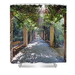 Archway Shower Curtain by George Atsametakis