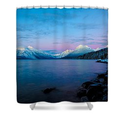 Arctic Slumber Shower Curtain by Aaron Aldrich
