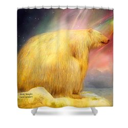 Arctic Wonders Shower Curtain by Carol Cavalaris