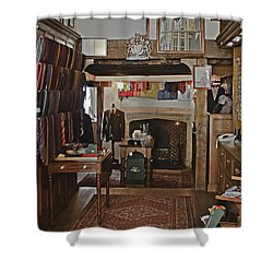 Shower Curtain featuring the photograph Are You Being Served ? by Terri Waters