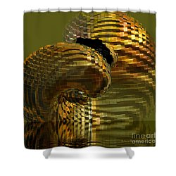 Arisen From The Depths Shower Curtain by Deborah Benoit