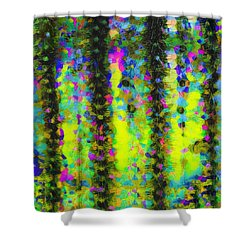 Arizona Abstract I Shower Curtain by Marianne Campolongo