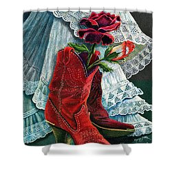 Arizona Rose Shower Curtain