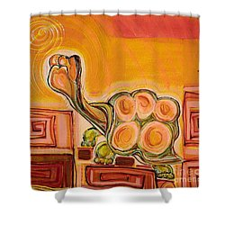 Arizona Turtle Shower Curtain