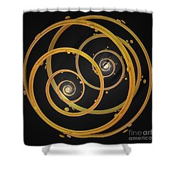 Armillary By Jammer Shower Curtain by First Star Art