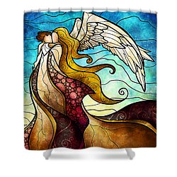 Arms Of The Angel Shower Curtain