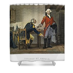 Arnold And Andre, 1780 Shower Curtain by Granger
