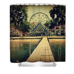 Arnolds Park Shower Curtain