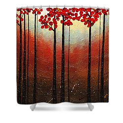 Aroma Do Campo Shower Curtain by Carmen Guedez