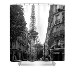 Shower Curtain featuring the photograph Around The Corner by Lisa Parrish