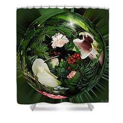 Around The Garden Shower Curtain