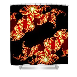 Array Of Lights Shower Curtain