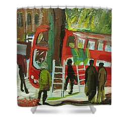 Arriva London North Ltd. -  Destroyed My Life Shower Curtain