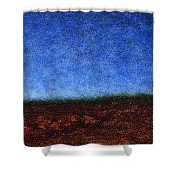 Arroyo Rojo Shower Curtain by James W Johnson