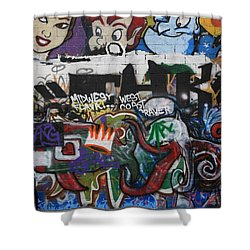 Art Alley 4 Shower Curtain