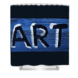 ART Shower Curtain by Chris Berry