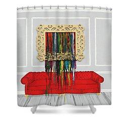 Art Cry Shower Curtain