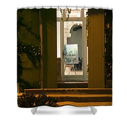 Art Gallery Shower Curtain by Bob Phillips