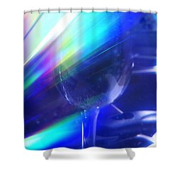 Shower Curtain featuring the photograph Art Glass by Martin Howard