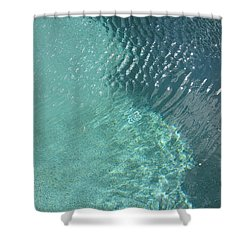 Art Homage David Hockney Swimming Pool Arizona City Arizona 2005 Shower Curtain by David Lee Guss