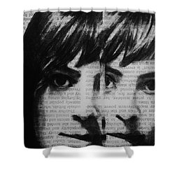 Art In The News 22 Shower Curtain