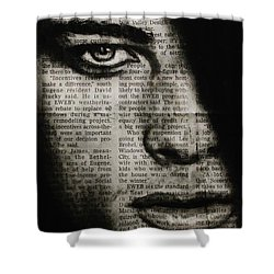 Art In The News 7 Shower Curtain
