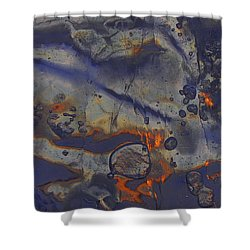 Art Of Ice 5 Shower Curtain