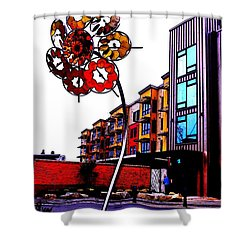 Art On The Ave Shower Curtain by Sadie Reneau