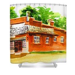 Art Studio Shower Curtain by Kip DeVore