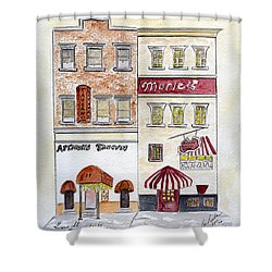 Arthur's Tavern - Greenwich Village Shower Curtain