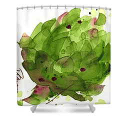 Artichoke II Shower Curtain