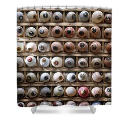 Artificial Eyes  Disorders Shower Curtain by Brooks Brown