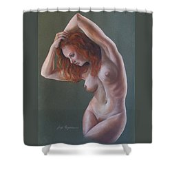 Artistic Nude Shower Curtain