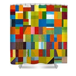 Artprize 2012 Shower Curtain by Michelle Calkins