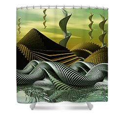 Artscape Shower Curtain