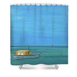 Aruba Shower Curtain by Donna Tuten