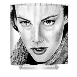 Arwen Undomiel Shower Curtain by Kayleigh Semeniuk