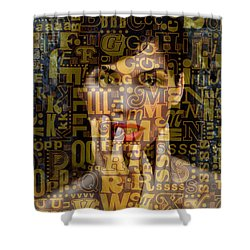 As Easy As A B C Shower Curtain by Seth Weaver