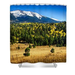 As Fall Arrives In Arizona  Shower Curtain