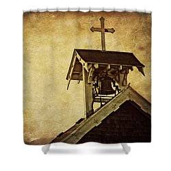 As The Bell Tolls  Shower Curtain