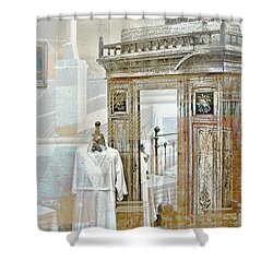 Shower Curtain featuring the photograph As Time Goes By by Holly Kempe