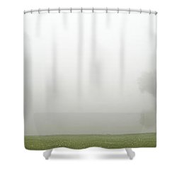 As You Can Not So Clearly See Shower Curtain