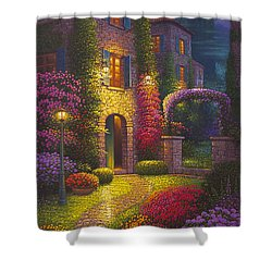 As You Light My Path Shower Curtain