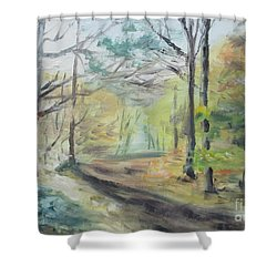 Ashridge Woods 2 Shower Curtain