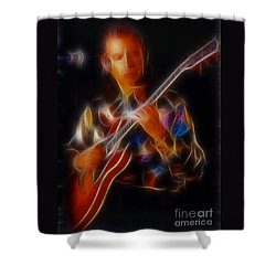 Asia-steve-gc24-fractal Shower Curtain by Gary Gingrich Galleries
