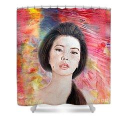 Asian Beauty IIi Shower Curtain