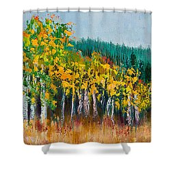 Lothlorien Shower Curtain by Margaret Bobb
