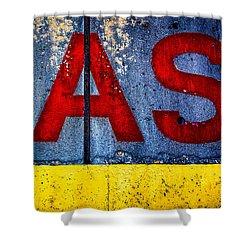 ASS Shower Curtain by Bob Orsillo